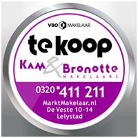 Logo Kam&Bronotte makelaars