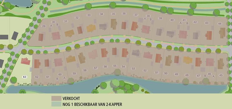 kavelkaart Groenendaal